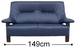 ソファーの幅と高さ